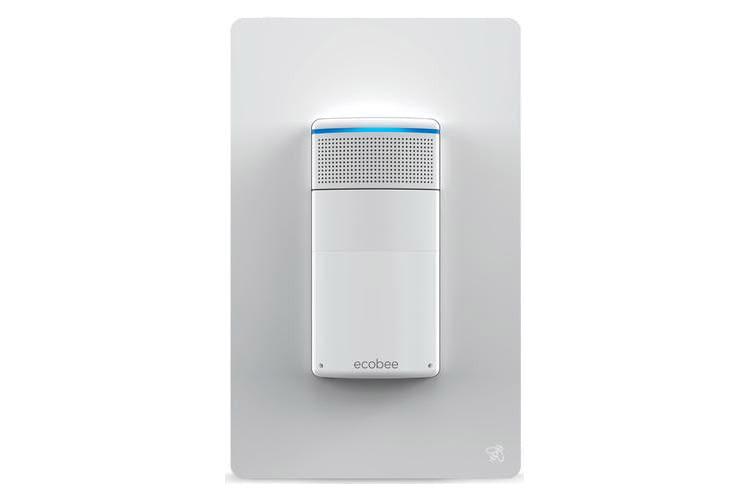 Der intelligente Lichtschalter ecobee Switch+ hat Amazon Alexa bereits integriert