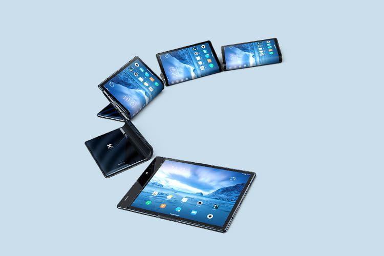 Mit dem Royole FlexPai erhalten Nutzer Smartphone und Tablet in einem