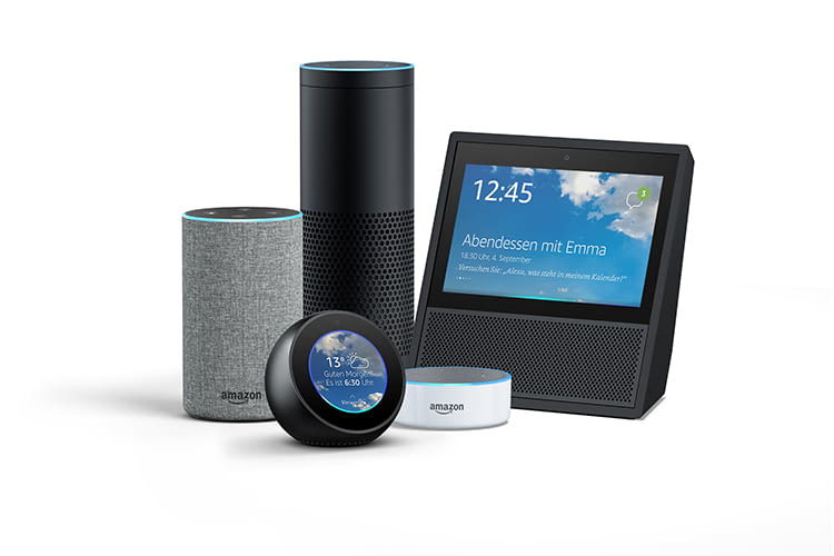 amazon echo test alle amazon alexa lautsprecher im test. Black Bedroom Furniture Sets. Home Design Ideas