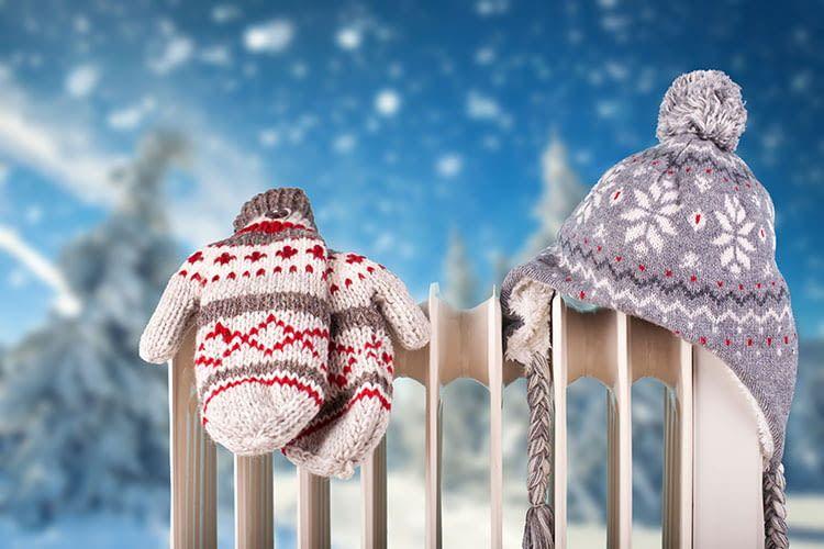 Im Winter sollen Räume nicht nur warm beheizt werden, sondern am besten auch energieeffizient