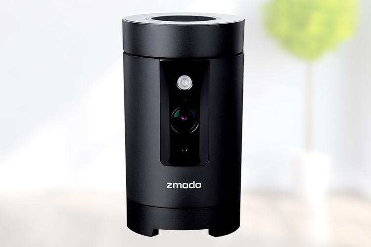 zmodo pivot all in one l sung kamera sensor und hub in einem. Black Bedroom Furniture Sets. Home Design Ideas