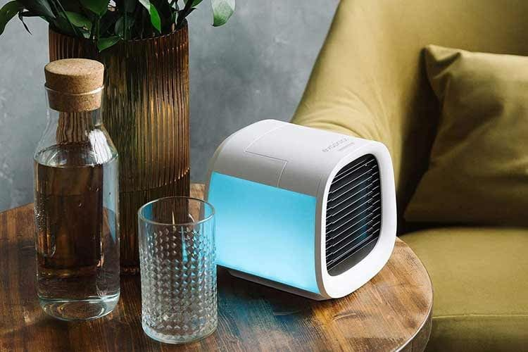 Luftkühler gibt es in unterschiedlichen Größen und Farbdesigns