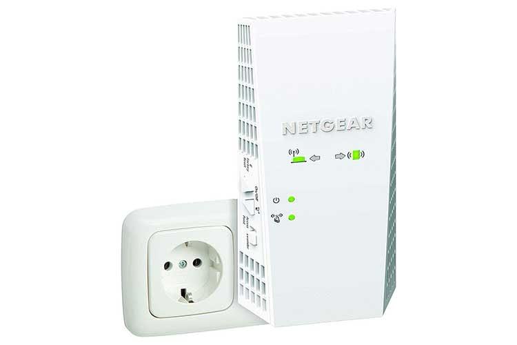 Der Mesh WLAN Repeater Netgear EX7300-100PES bringt schnelles Internet bis ins entfernteste Zimmer
