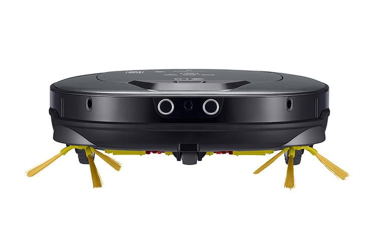 LGs Saugroboter VRH 950 will nur eines: Schmutz beseitigen, wo immer er ihn findet