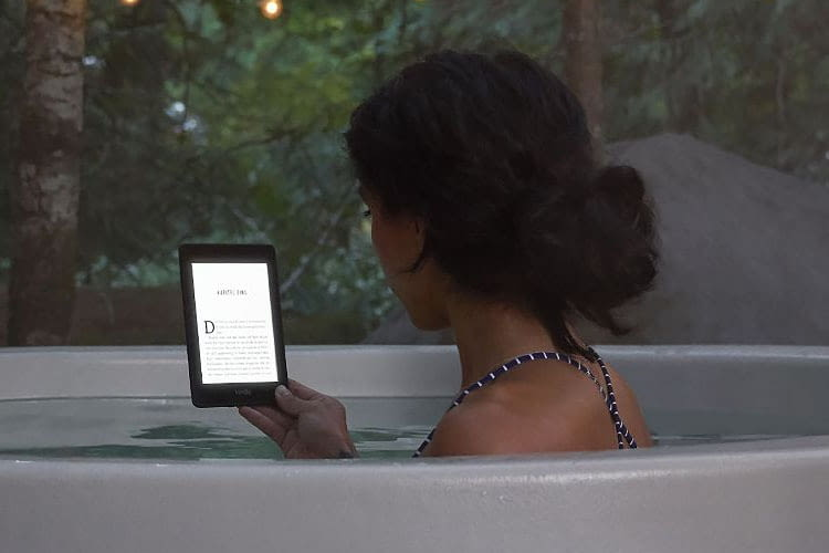 Amazon Kindle Paperwhite ist ein wasserdichter eReader