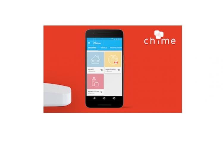 Chime Wi-Fi/WLAN Router mit App von AVG