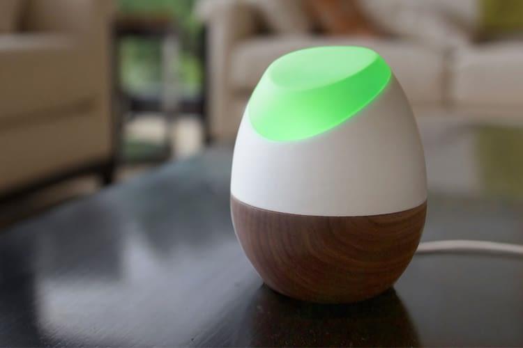 Der Glow Energiemonitor verbraucht selbst weniger Energie als eine LED-Birne