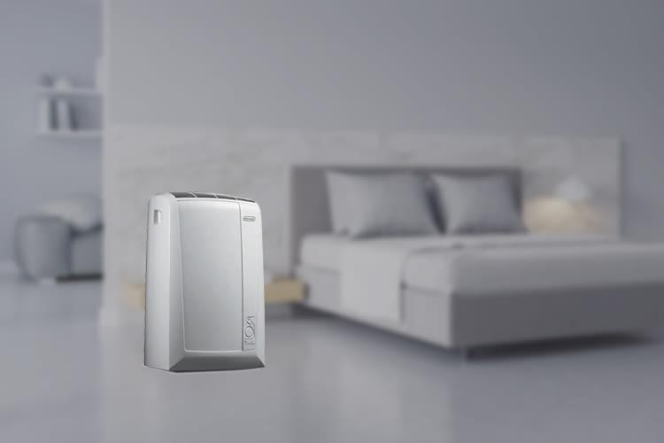 Diese mobile Klimagerät eignet sich für Räume mit bis zu 80 Kubikmetern Größe
