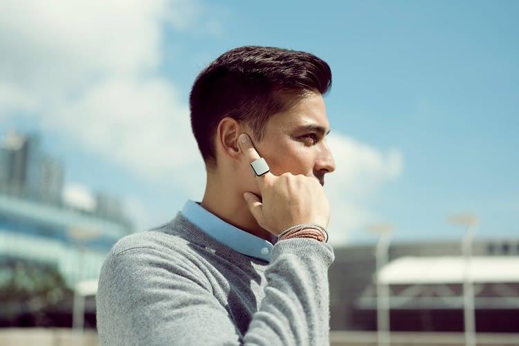 Mit dem smarten Ring ORII wird der Finger zum Smartphone