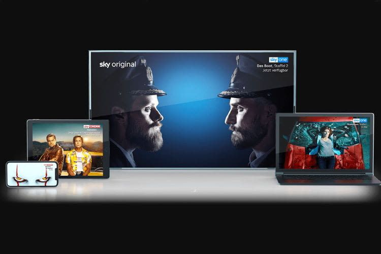 Sky bietet unterschiedliche Möglichkeiten für Entertainment- und Sportfreunde