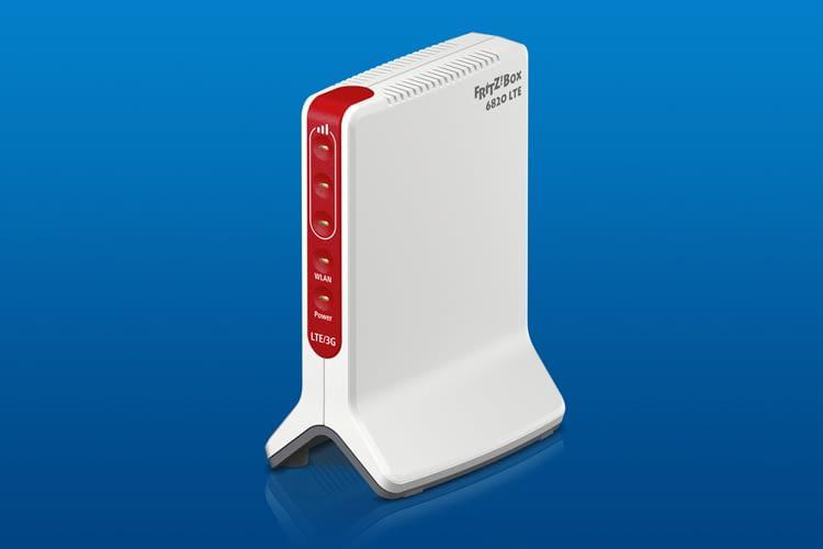 FRITZ!Box 6820 ermöglicht den Empfang von LTE