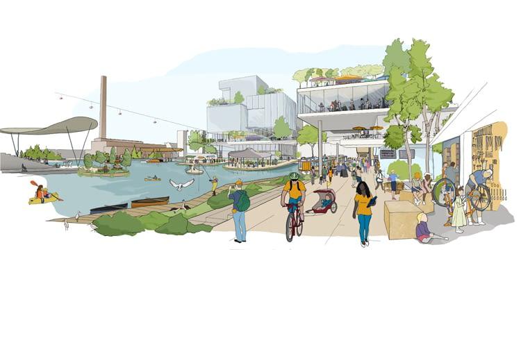 Waterfront Toronto hat eine energieeffiziente, lebenswerte Stadt zum Ziel