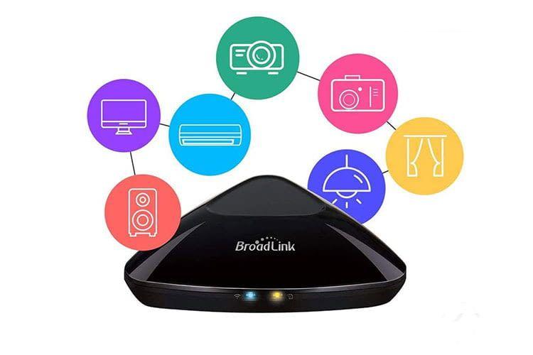 Broadlink RM Pro+ ist eine Universalfernbedienung mit Smart Home Funktionen