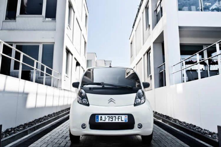 Der C-Zero ist das erste Elektroauto von Citroen.