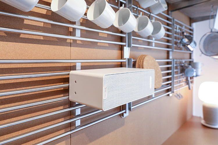 Symfonisk Lautsprecher können in Sonos Heimkinosysteme eingebunden werden