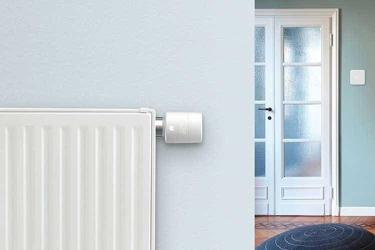 Herkömmliche Thermostate an Heizungen oder Wänden lassen sich beispielsweise durch tado° Varianten einfach modernisieren