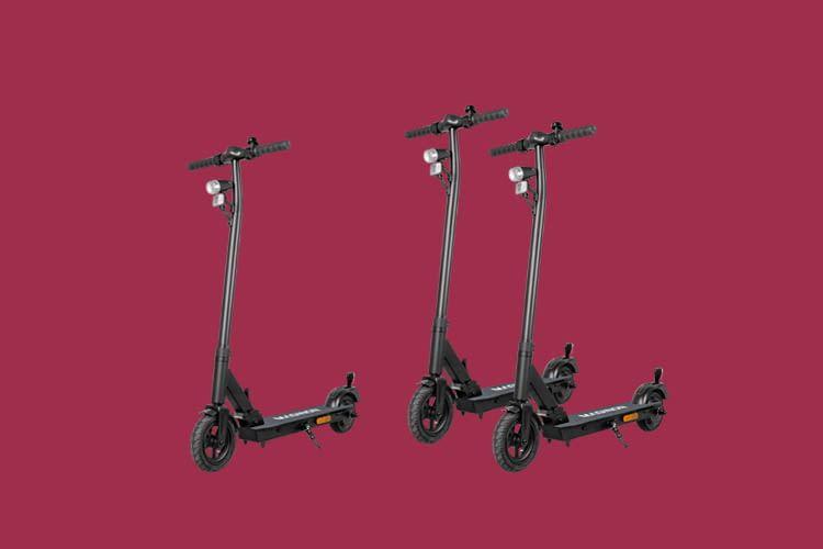 Der ALDI E-Roller Maginon eScooter Street one verfügt über eine Straßenzulassung