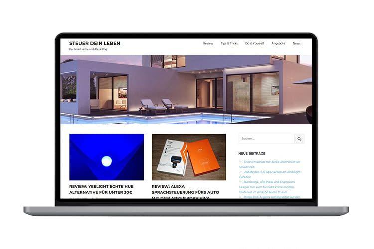 steuerdeinleben.de - der Smart Home und Alexa Blog auf home&smart