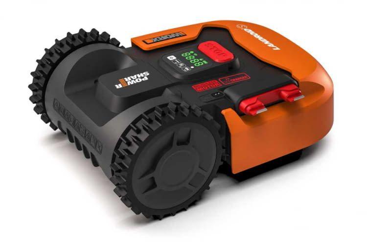 Worx Landroid S300 (WR130E) ist ein Mähroboter für kleine Flächen bis 300 Quadratmeter mit vielen Extras