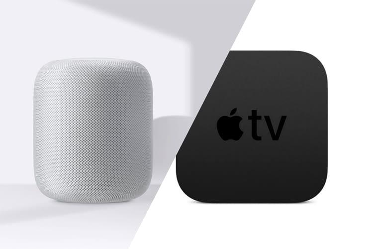 Apple's HomePod lässt sich ganz einfach als Lautsprecher für den AppleTV nutzen