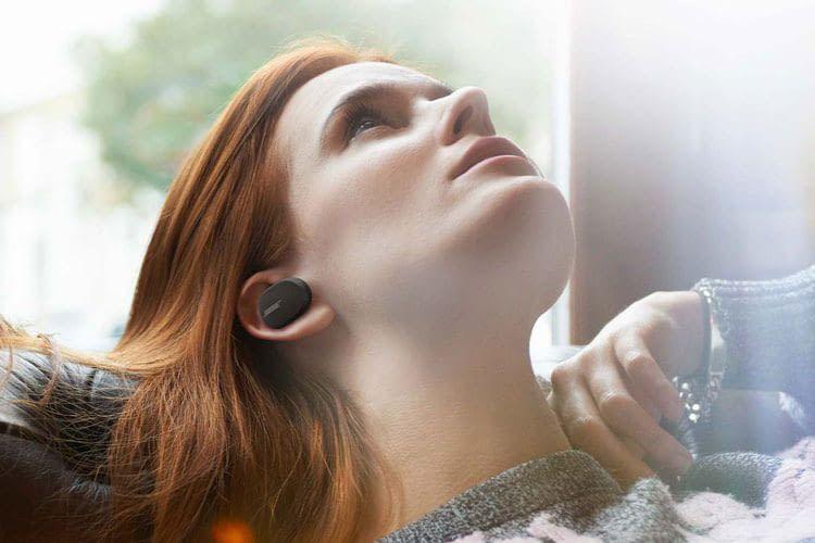 Bose hat in den kleinen QuietComfort Earbuds eine aktive Geräuschunterdrückung verbaut