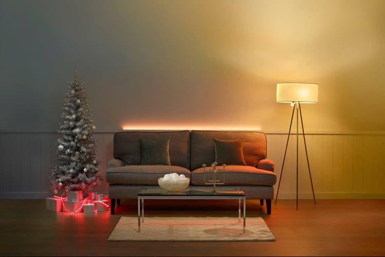 Weihnachtliche Szenen mit der Hue App, Hue Labs und iConnectHue