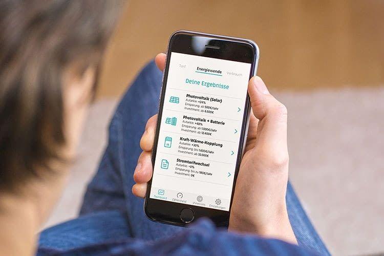 Die shine App hilft bei der Suche nach Stromanbieter-Alternativen