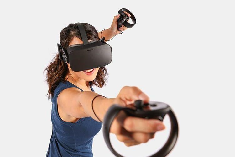 Mit Oculus Rift und den dazugehörigen Controllern wirkt Virtual Reality besonders authentisch