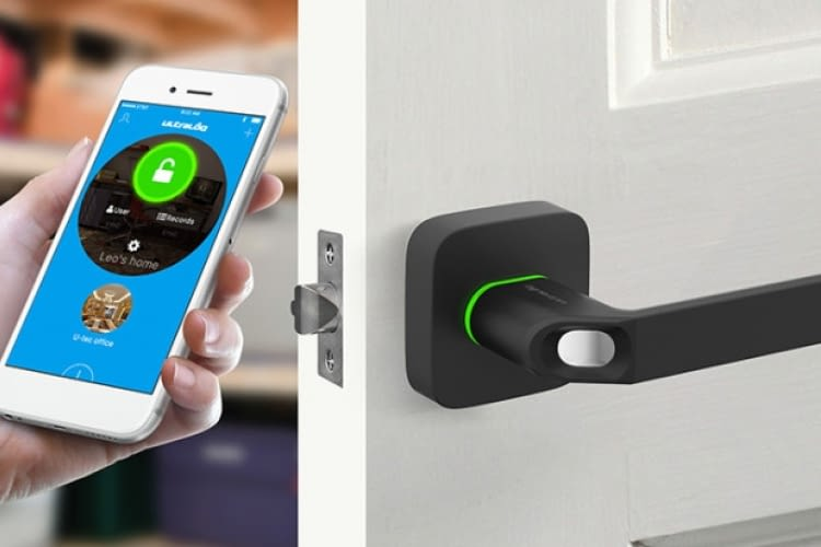 Ultraloq Ul1 Fingerscan Key Fob Und Bluetooth Smart Lock