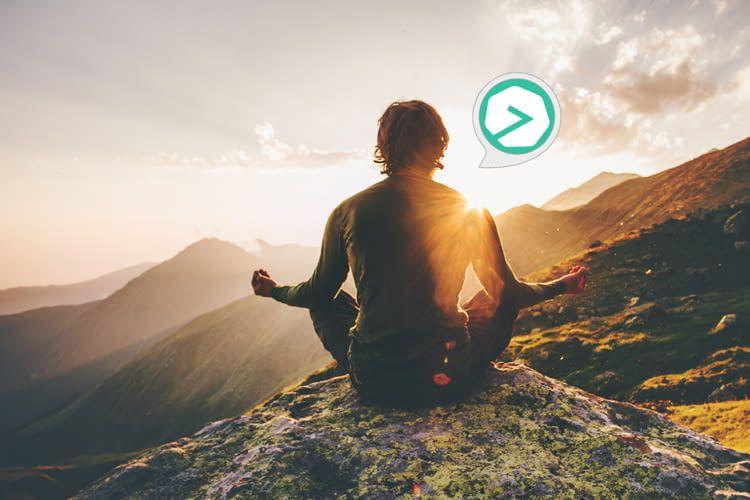 In nur wenigen Minuten pro Tag können per 7Mind Meditationskurse absolviert werden