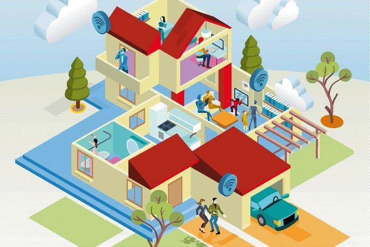 Im Smart Home wohnt man intelligent, sicher und bequem