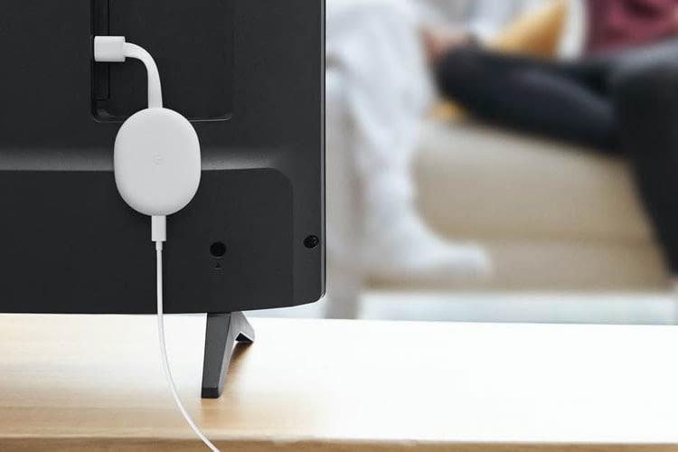 Chromecast mit Google TV besitzt ein etwas ovaleres Design im Vergleich zu seinen Vorgängern