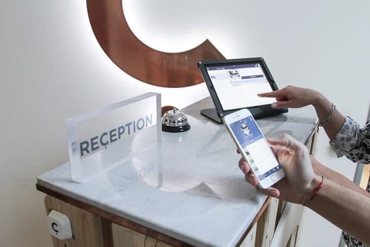 conichi App von der Hotel Beacons GmbH