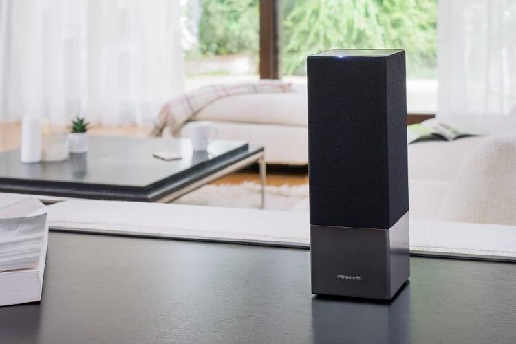 Panasonic stellt auf der IFA 2017 einen Smart Home-Lautsprecher mit Google Assistant vor