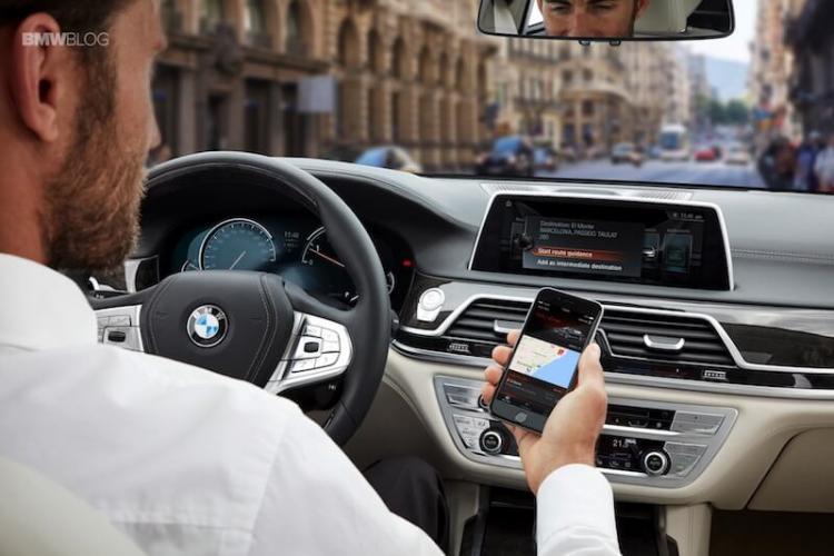 BMW Connected mit Google Alexa Integration