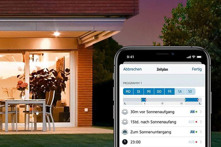 Per Eve Light Switch wird die Beleuchtung auch mit vorhandenen LED Leuchten smart steuerbar