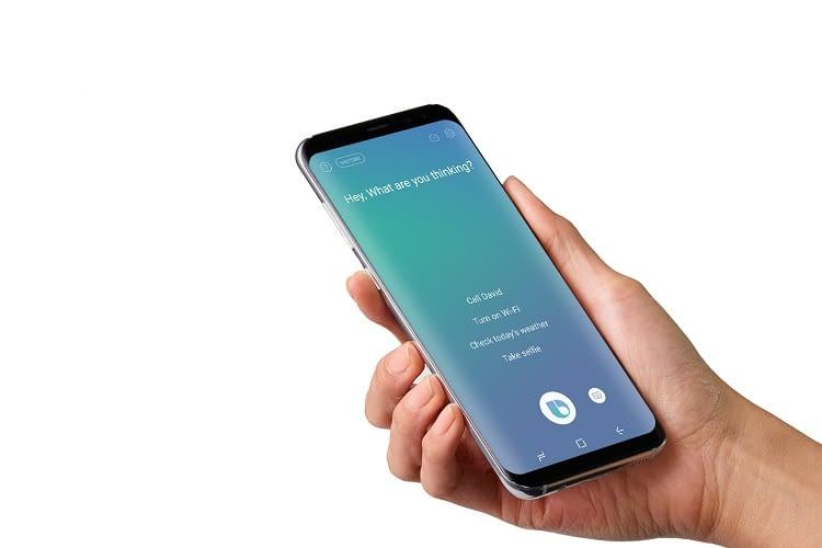 Bixby ist auf dem Samsung Galaxy S8 und S8+ zuhause