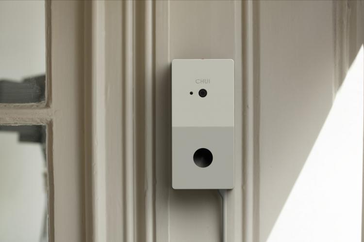 So sieht die Chui Smart Doorbell aus, die bei Kickstarter finanziert werden soll