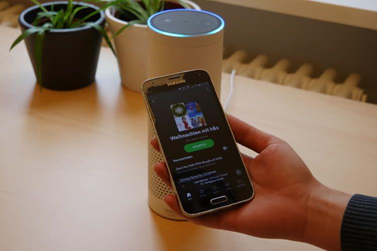 Spotify lässt sich ganz schnell in der Alexa-App als Standard-Musikdienst festlegen