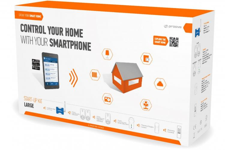 Start-Up Kit von Proove - Create your Smart Home