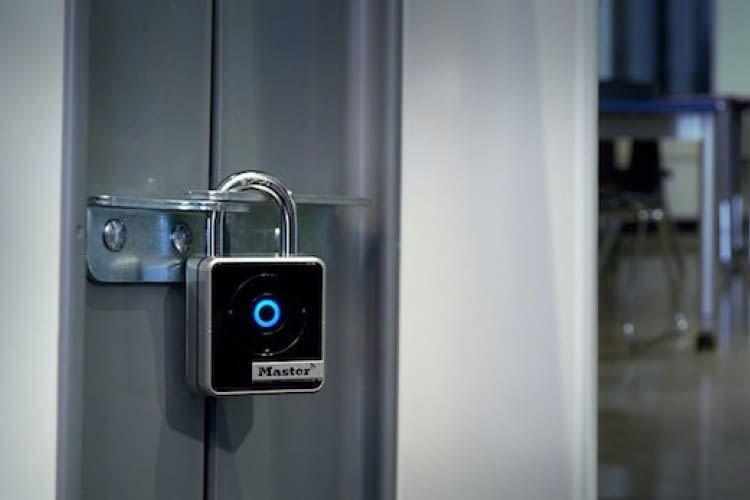 Master Lock Connected Bluetooth Smart Vorhängeschloss 4401EURDLH
