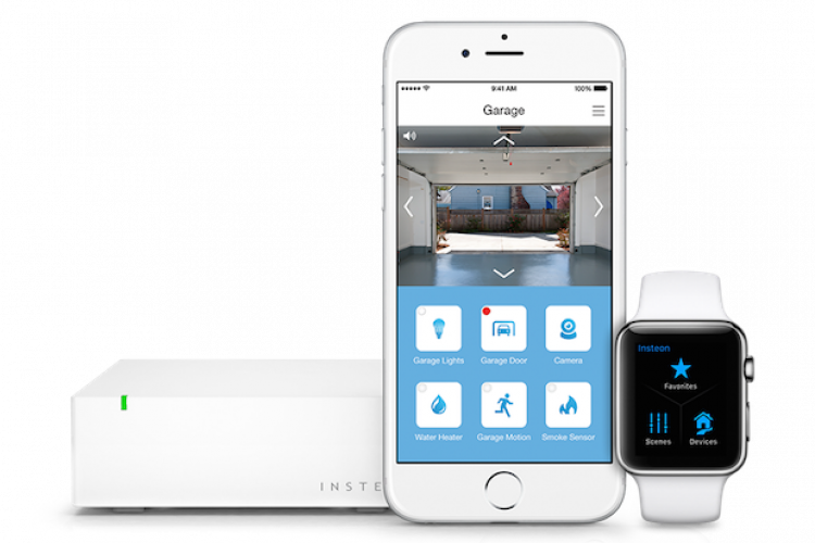 Insteon Hub mit einem iPhone und einer Apple Watch - Smart Home
