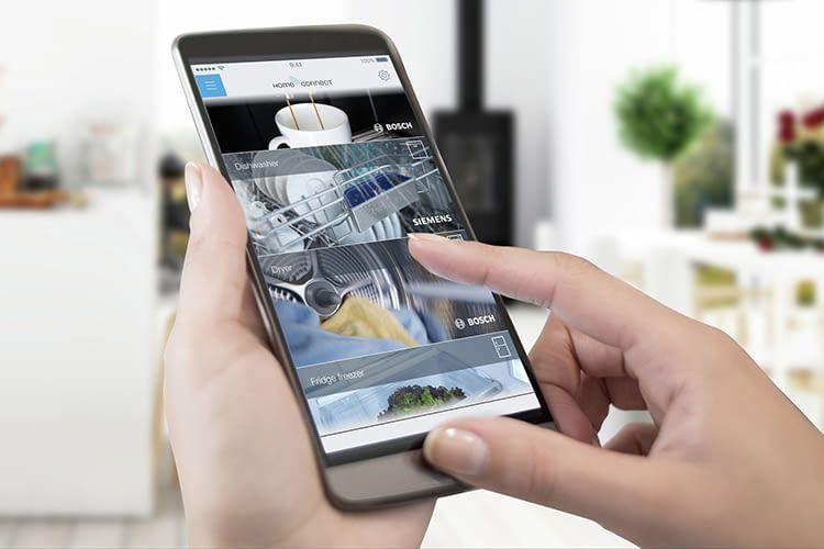 Intelligente Hausgerte Von Siemens Und Bosch Lassen Sich Mit Home Connect Einfach Steuern