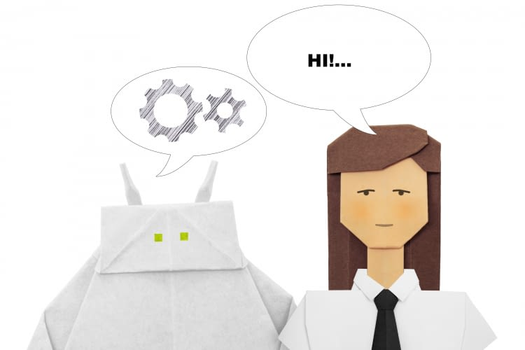 Chatbots sind noch nicht sehr schlau, aber auch nicht unbeliebt