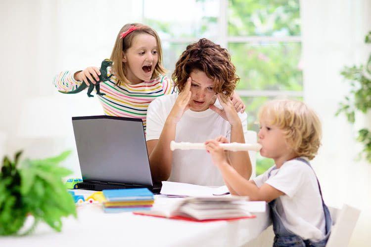 Wir zeigen, wie sich Stress beim Arbeiten zu Hause vermeiden lässt