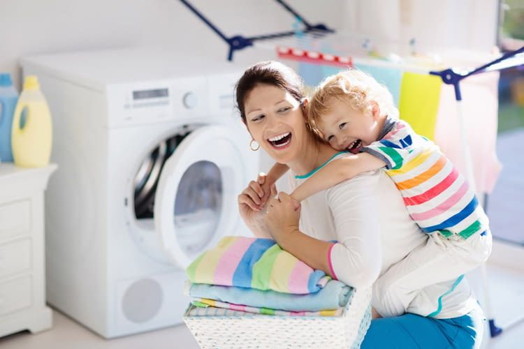 Ein Kondenstrockner kann die Hausarbeit deutlich erleichtern