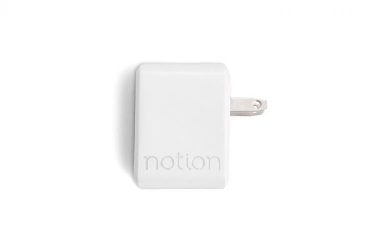 Der Notion Hub und Sensor für das Smart Home