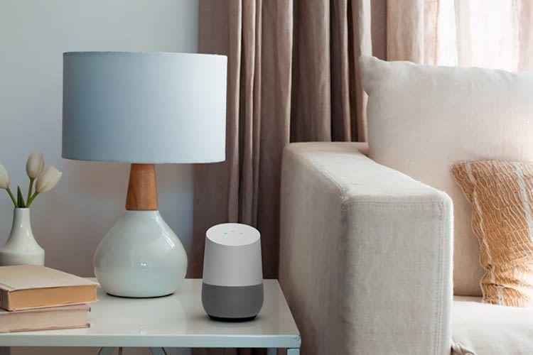 Ein Google Home lässt sich auch als Bluetooth-Lautsprecher verwenden, der Musik vom Smartphone abspielt