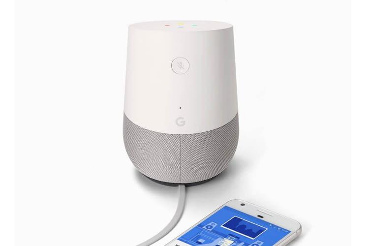 Die Google Home und Google Nest Lautsprecher eignen sich auch als Telefon-Ersatz