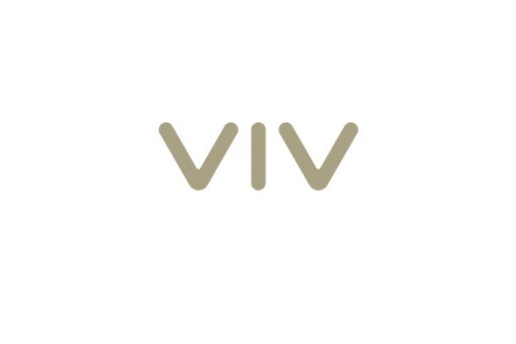 Logo VIV von Samsung Sprachassistenten